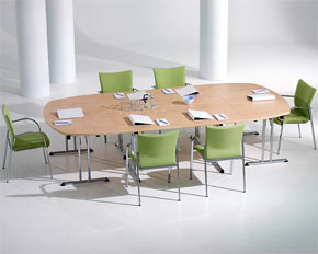 folding meeting tables modular conference tables folding office tables conference room. Black Bedroom Furniture Sets. Home Design Ideas