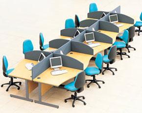single wave desks