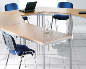 modular training tables 1600mm width
