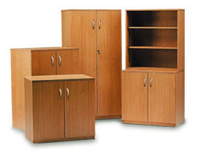 cupboards with adjustable shelves