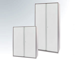 double door metal cupboards