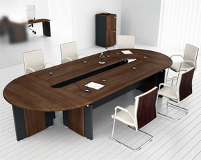 d-end boardroom table