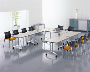 Fliptop Conference Table Layout - Conference table layout