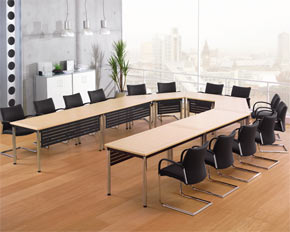 Folding Frame Conference Table Layout - Conference table layout