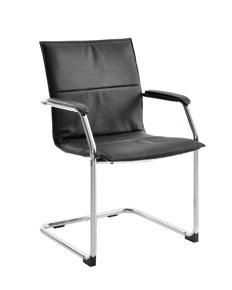 leather faced conference chair