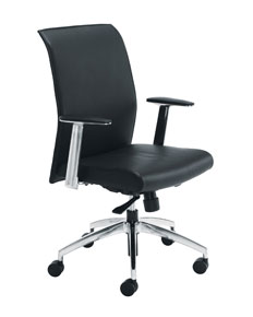 leather faced manager chair