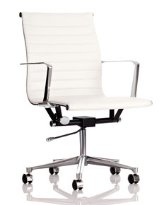 leather-look executive chair