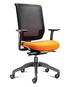 mesh high back task chair
